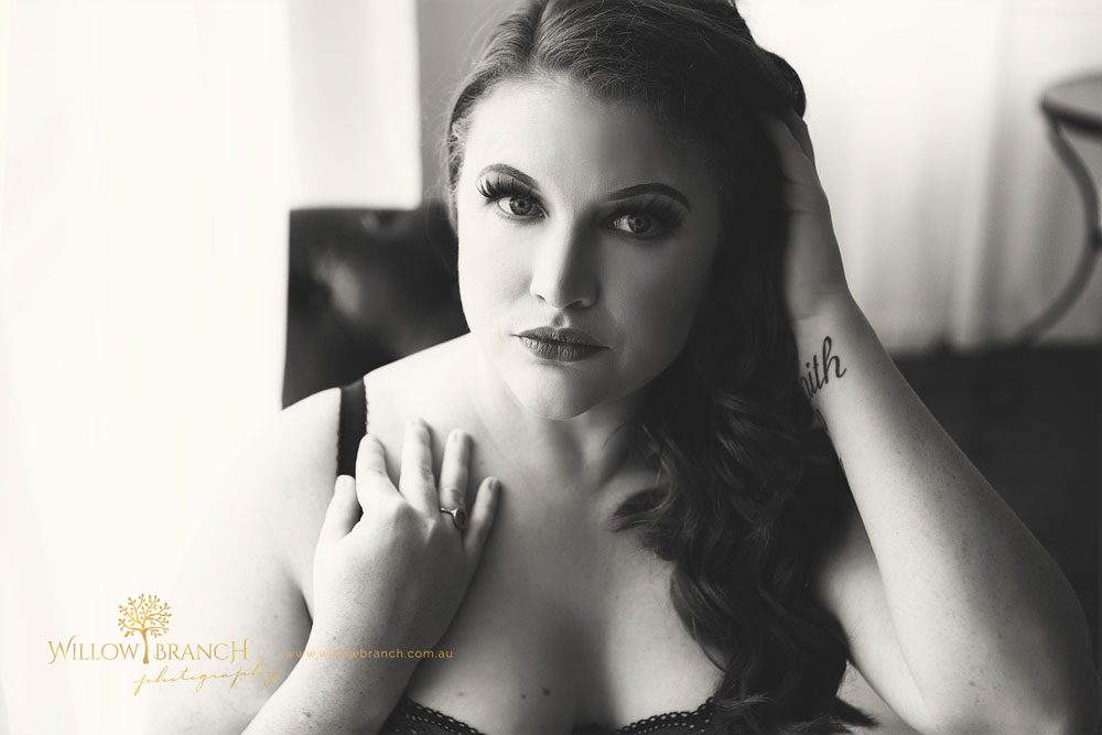 Curvy Boudoir Photography Brisbane
